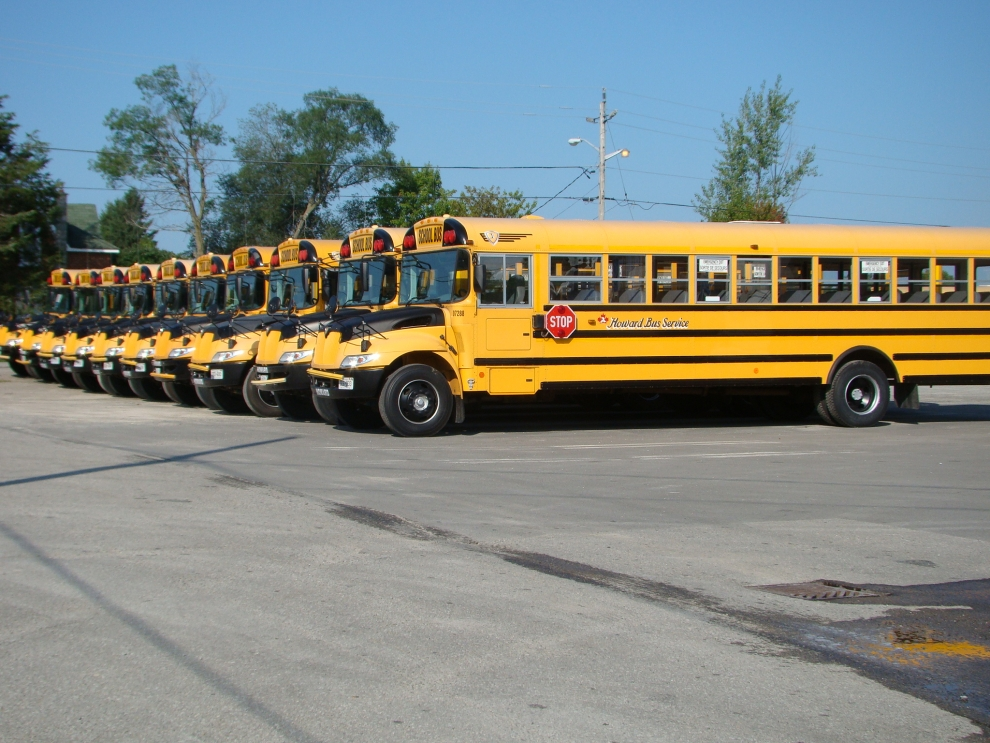 School Bus Rental Services Brockville Ontario Howard Travel
