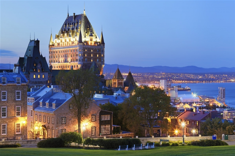 Quebec City and Whalewatching