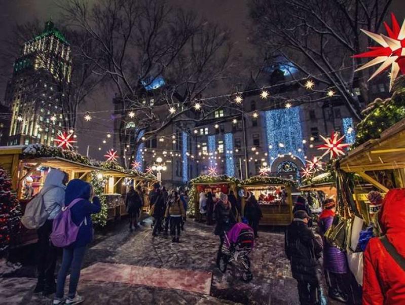 Quebec City's German Christmas Market